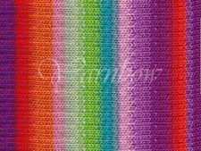 NORO ::Kureyon #319:: wool knitting yarn Violet-Red-Orange-Rose-Lime-Mint