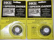 2 Pack HKS 586-A Speed Loader 357 mag S&W 586 Magnum PLUS 6 Shot