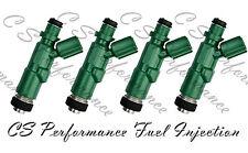OEM Denso Fuel Injectors Set (4) 23250-21020 for 2000-2009 Scion 1.5L L4