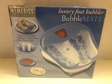 Homedics Bubble Mate Luxury Foot Bath Soak Bubbler With Heat Bm-300 - Brand New