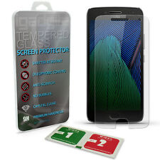 Tempered Glass Film Screen Protector for Motorola Moto G5 Plus 5th Gen Plus