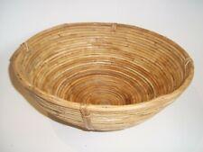 Large RATTAN BREAD PROOFING Kitchen Dough Basket 29cm diameter.