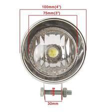 Chrome LED Angel Eye Spot Light For Honda VTX 1800 TYPE C R S N RETRO