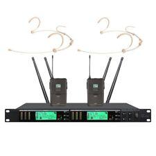 Headset Microphone wireless system True Diversity UHF Wireless microphones Pro