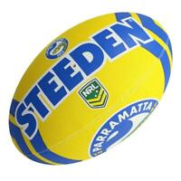 Steeden NRL Eels Supporter Ball - Size 5 - Rugby League Football
