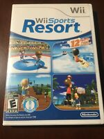 Wii Sports Resort Game Complete! Nintendo Wii - Tested & Working Good Condition