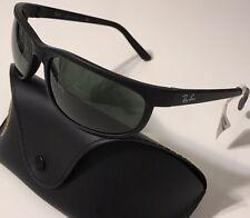 NWT RAY BAN Men's RB 2027 W1847 PREDATOR 2 MATTE BLACK 100% UV SUNGLASSES