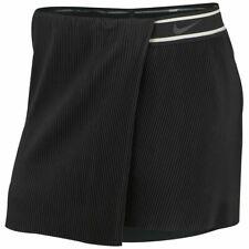 NWT Women's Nike Tennis Skirt DriFit Court Slam Victory London Skort Black Large