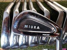 Miura Forged Cavity Back Golf Iron Set 3-PW KBS Tour Black Nickel Stiff Flex