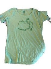 Masters Women's T-shirt medium New With Tags Light Green