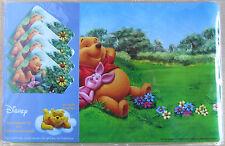4 Platzdeckchen + 4 Untersetzer * Winnie the Pooh/Puuh * Ferkel * Disney * Neu