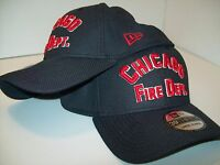Chicago Fire Department Cap Block Letter New Era Raised Embroidery