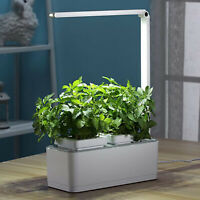 Indoor Hydroponic Growing System Garden LED Grow Light Planter 18 Pods US