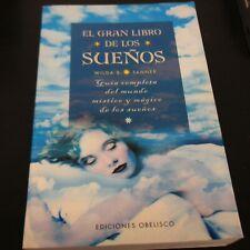 El Gran Libro De Los Suenos (MAGIA Y OCULTISMO) Spanish Edition