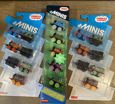 Thomas and friends mini fisher price Lot 3 pack 19 Total 5 Glow In The Dark