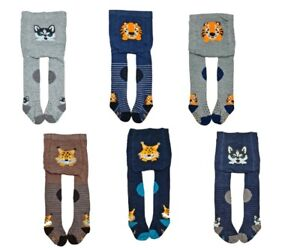 Baby Boy Crawling Cotton Tights ABS Sole Rubberized Anti slip Knees 6-24 Months