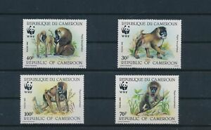 LO29726 Cameroon monkey animals wildlife fine lot MNH