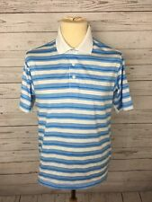 Men's Adidas Golf Climacool Polo Shirt - Size Small - Striped - Great Condition