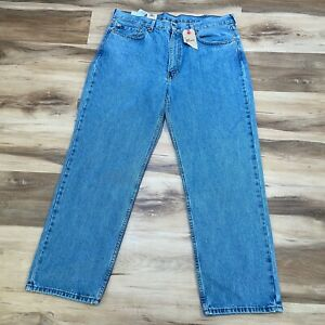 Levis 550 Relaxed Fit Tapered Leg Men's 38 x 30 Medium Wash Jeans NEW