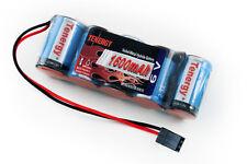 Tenergy 5 CELL 6V 1600mAh NiMH FLAT Receiver Battery Pack REVO 2.5 3.3