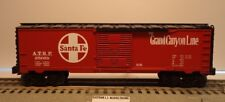 Lionel K-Line Santa Fe 25058 Box Car Reefer A.T.S.F Box Car O Gauge