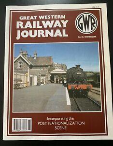 GWR Great Western Railway Journal Magazine 2008 Issue No.s 65 66 67 68