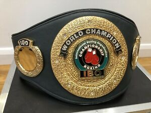 IBO World Champion-Custom Made Boxing Belt-Read Description -WBO, WBA, IBF, WBC