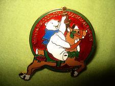 COCA COLA COKE CAVANAGH'S COLLECTORS SOCIETY SOUVENIR CHRISTMAS PIN / TIE TACK
