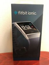 Fitbit Ionic 36mm Silver Gray Aluminum Case Blue Gray Classic Buckle - (503WTGY)