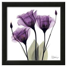 Art.com - Royal Purple Gentian Trio Framed Wall Art