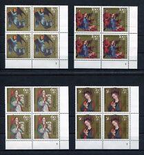 Bund 1592 - 1595 Eckrand Viererblock Formnummer postfrisch VB FN 2 Weihnachten