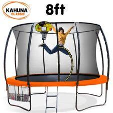 Kahuna 8 ft Trampoline with Basketball Set