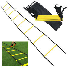 8 Rung Agility Speed Training Ladder Footwork Fitness Football Workout Exercise