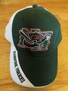 NEW HAMPSHIRE FISHERCATS Minor League Baseball (Adjustable) Cap GREEN