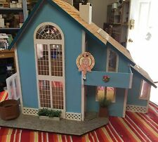 OOAK HANDCRAFTED BROOKWOOD DOLLHOUSE WITH MARY ENGELBREIT WALLPAPER