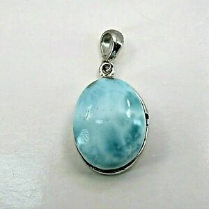 LARIMAR Pendant in 925 STERLING SILVER #0539
