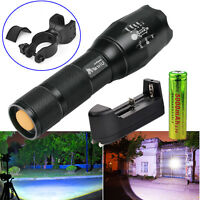 5000LM UltraFire CREE X-ML T6 G700 x800 LED Flashlight Torch +18650+Charger+Clip