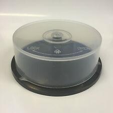 25 DISQUE capacité de stockage CD DVD vide BROCHE REMOUS boîte de gâteau cas UK + + new + +