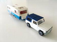 SIKU 1/55 No. 1044 MERCEDES-BENZ 280 GE (1982) & Caravan Camper (1989)