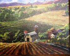 Farm Land By Unknown Artist