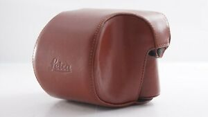 <NEAR MINT+> Leica Leather Camera Body Case Brown For M System MP M6 Japan 2935