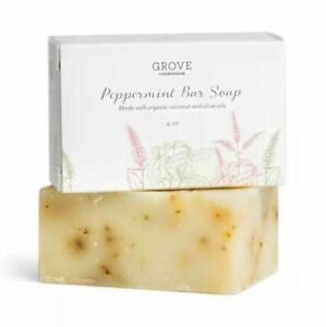 Grove Collaborative Hydrating Bar Soap ALL NATURAL Made in USA (Peppermint)
