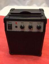Retro/Amp Speaker Guitar Amp Style Black. Tested. Works!