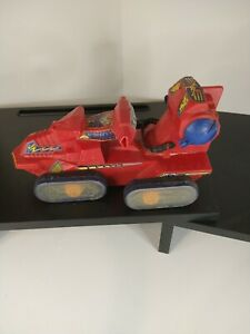 Vintage 1982 He-Man Attack Trak Vehicle No Battery Cover Masters of the Universe