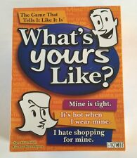 What's Yours Like? Game by Patch - 2007 Ed - 100% Complete! - Excellent conditio