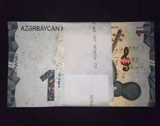 Azerbaijan 1 manat 2020 P-new UNC FULL bundle (100 pcs)