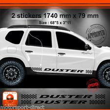 Sticker DACIA DUSTER tuning racing aufkleber adesivi pegatina decal 033