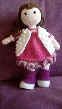 handmade crochet doll, great gift