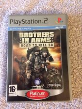 Play Station 2 (ps2) Game Platinum Edition - Brothers in Arms Road to Hill 30