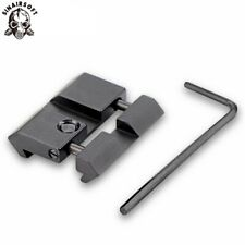 11 mm Dovetail to 20 mm Weaver Picatinny Rail Converter Scope Adapter Base Mount